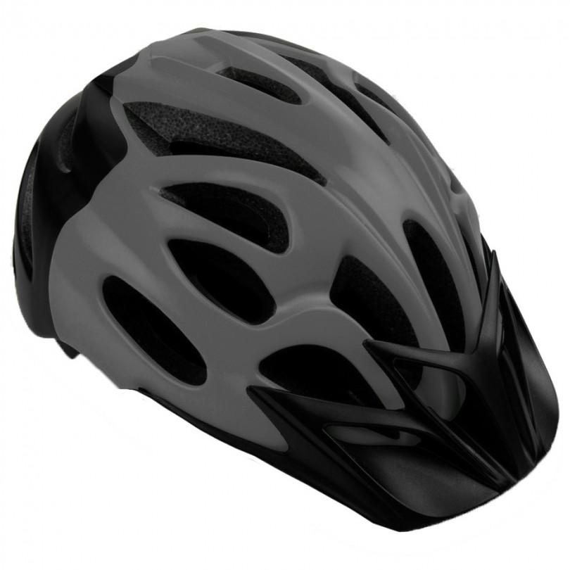 Kask rowerowy Spokey Checkpoint 55-58 cm grafitowo-czarny