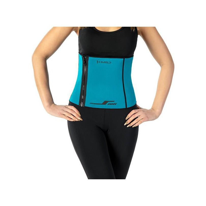 Ściągacz na brzuch pas wyszczuplający neoprenowy do ćwiczeń regulowany