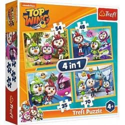 Trefl Puzzle 4w1 Ptasia...