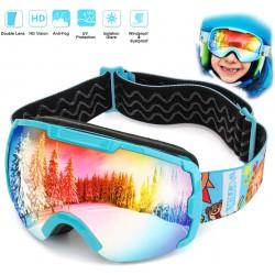 Gogle narciarskie dziecięce...