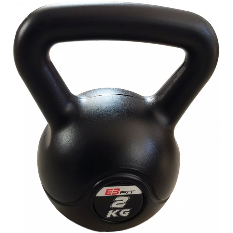 Kettlebell 2kg Odważnik Ciężarek Hantla EB fit