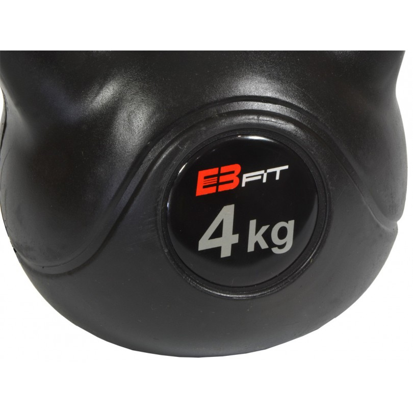 Kettlebell 4kg Odważnik Ciężarek Hantla EB fit