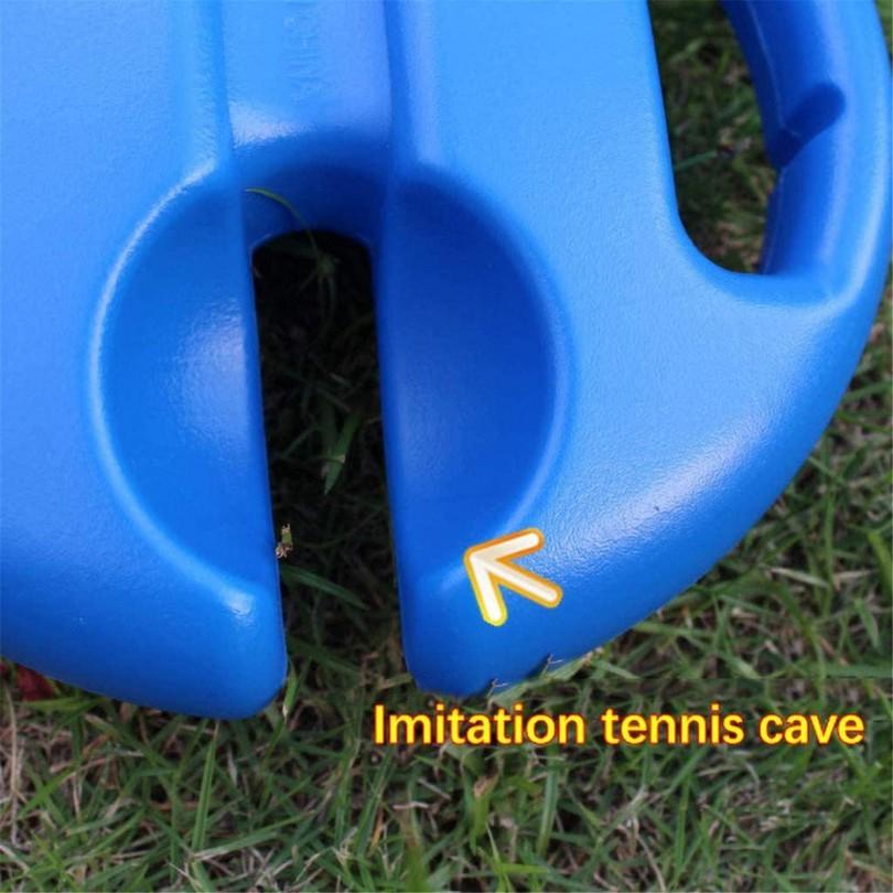 Podstawa do treningu tenisa + 4 piłki