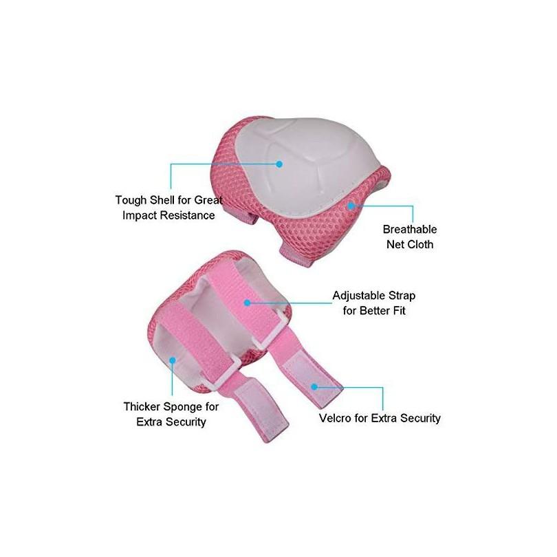 Zestaw ochraniaczy dla dzieci kolana łokcie nadgarstki