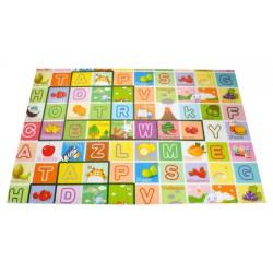 Puzzle piankowe dla dzieci dwustronne - mata 180x120cm