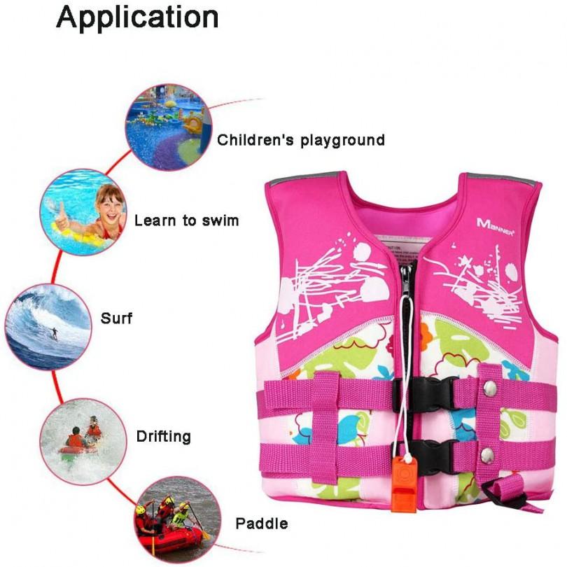 Kamizelka kapok dla dzieci 5-6 lat 18kg r.M