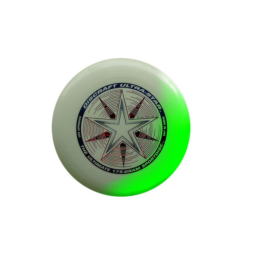 Frisbee Discraft Ultrastar Night Glow świecący dysk