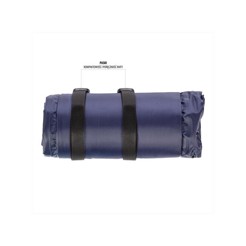 Mata samopompująca z poduszką NILS CAMP NC4008 190x63cm
