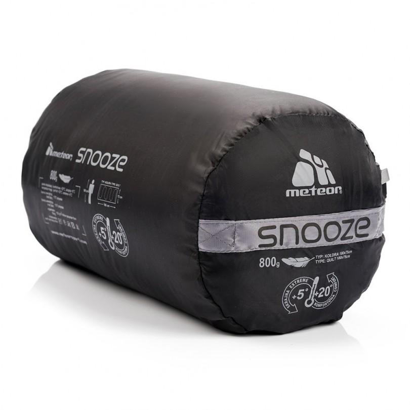 Śpiwór turystyczny kołdra 180cm METEOR SNOOZE