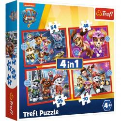 Trefl Puzzle 4w1 Psi Patrol...